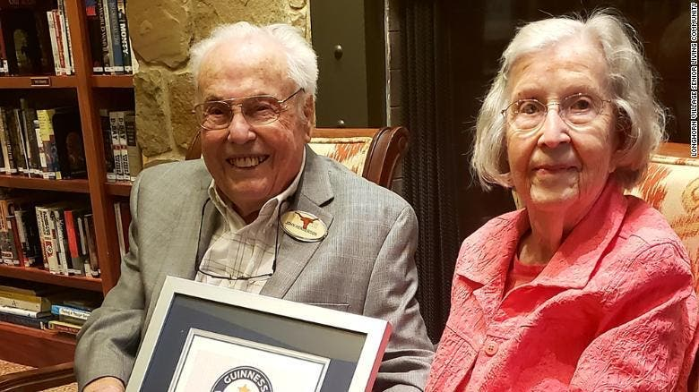 vieux couple record