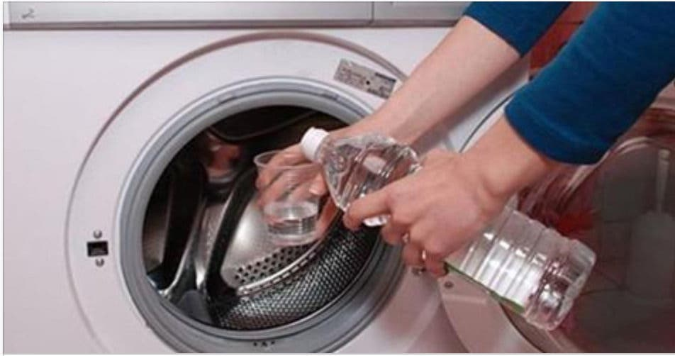 Utilisation du vinaigre blanc dans une machine à laver