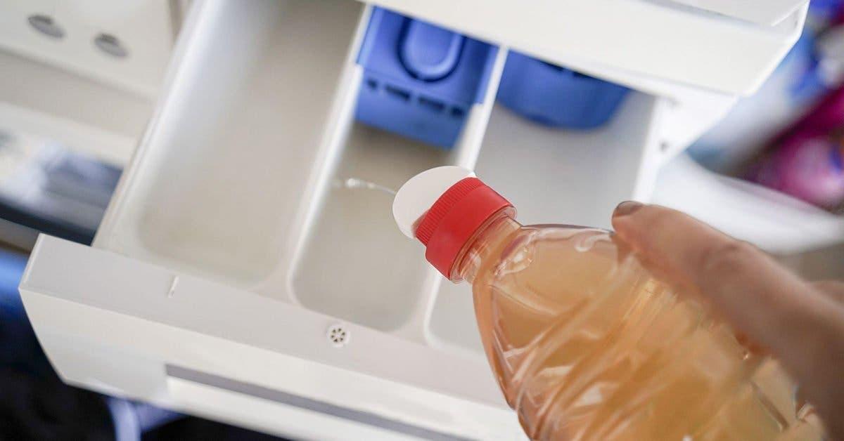 Voici pourquoi il est indispensable de mettre du vinaigre dans la machine à laver