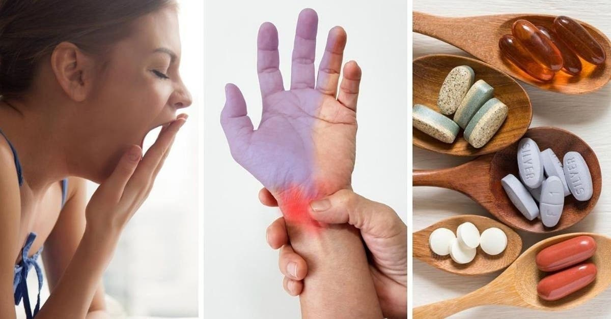 9 signes révélateurs d'une carence en vitamine B12