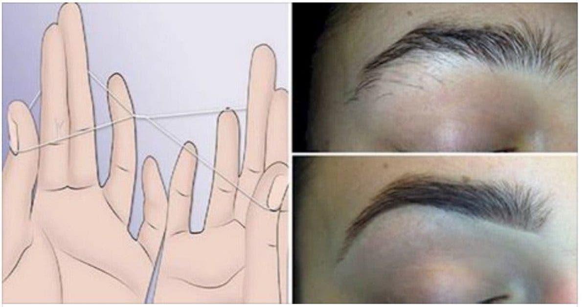 voici comment avoir une forme de sourcils parfaite sans pince a epiler 1