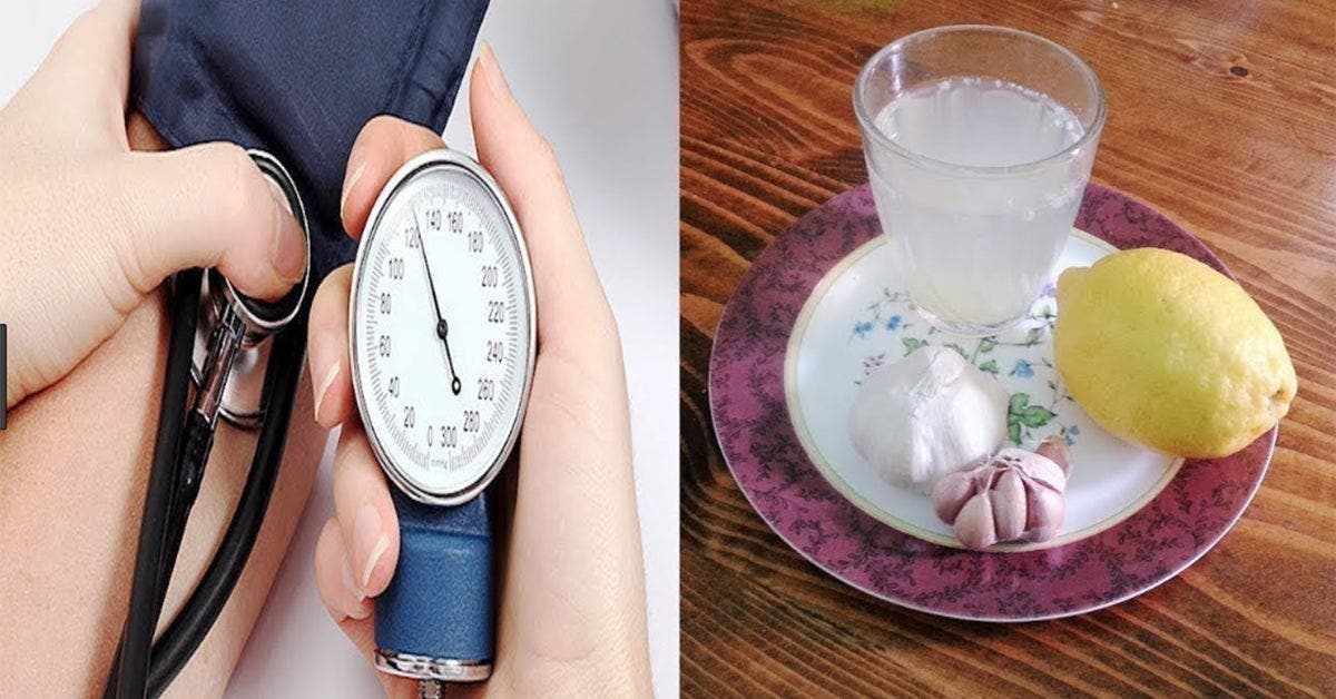 voici comment baisser la pression arterielle sans medicaments juste avec du citron de lail et du vinaigre 1 1