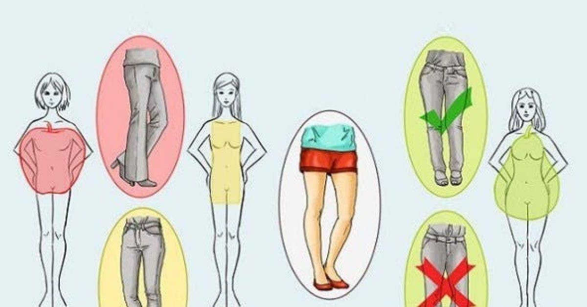 voici comment bien shabiller selon votre type de corps 1
