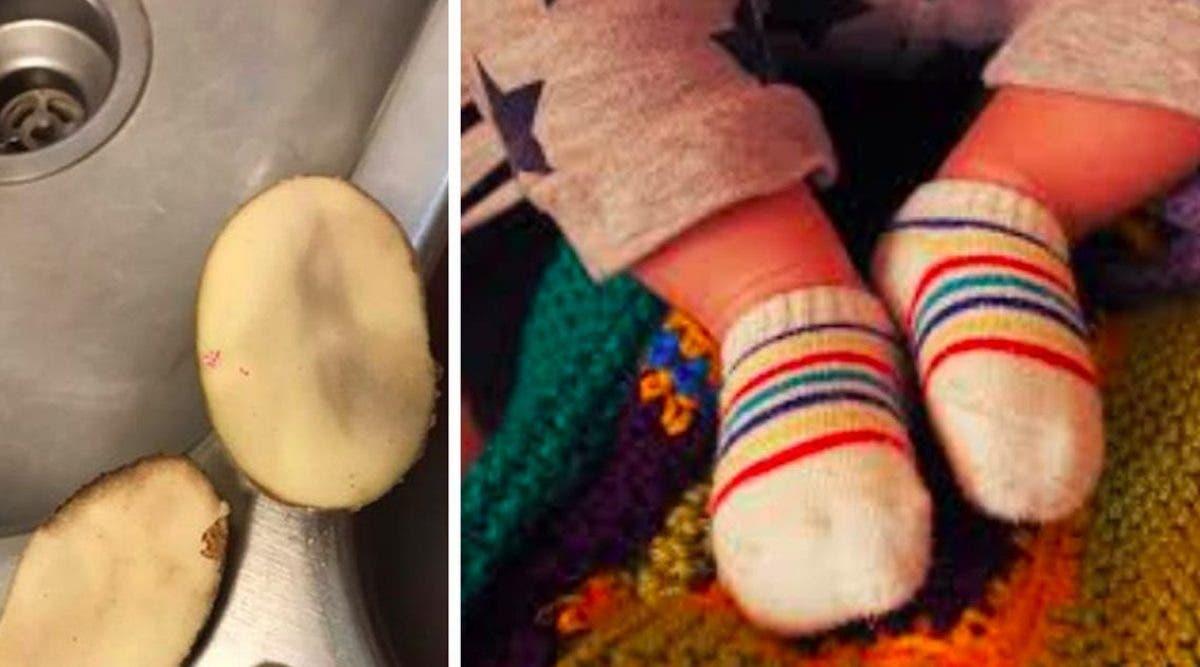 voici-comment-soigner-la-fievre-des-bebes-avec-de-la-pomme-de-terre-dans-leur-chaussettes