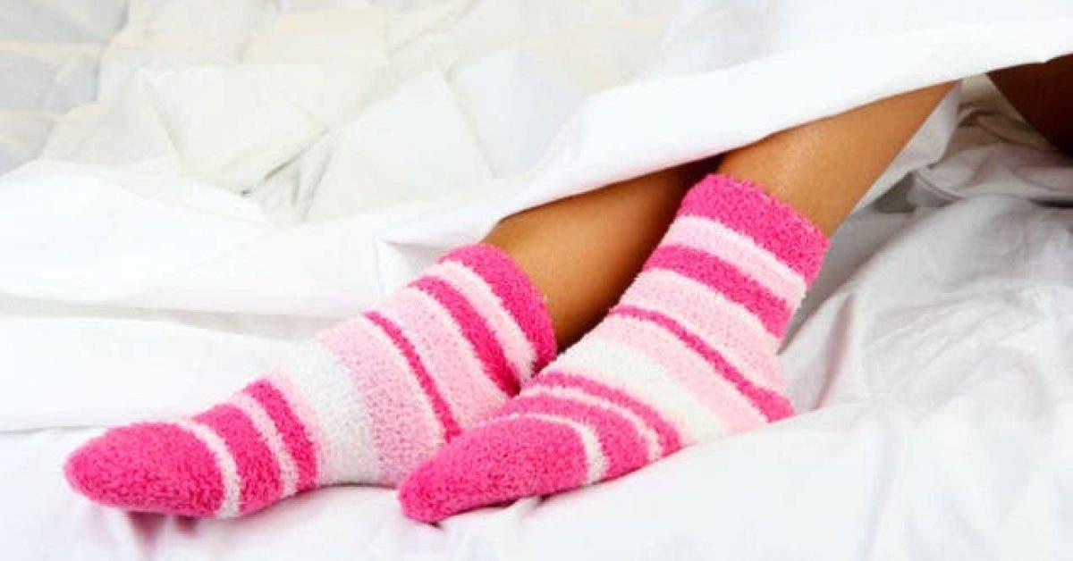 voici pourquoi vous devez dormir avec vos chaussettes 1