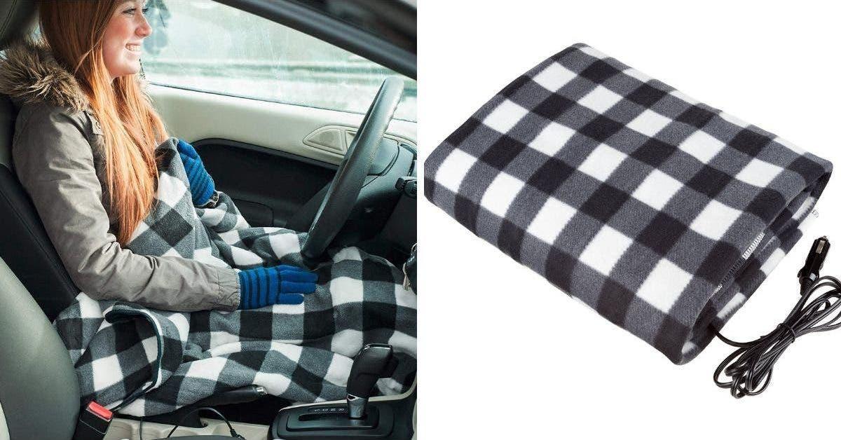 vous pouvez desormais acheter une couverture chauffante qui se branche dans votre voiture 1