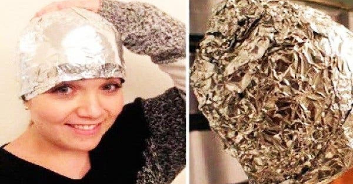 you are wondering what the purpose of the aluminum foil is but this is great trick and delights even the professional hairdressers 1 1